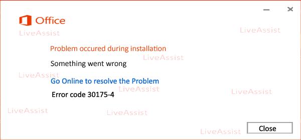 error code 30175-4